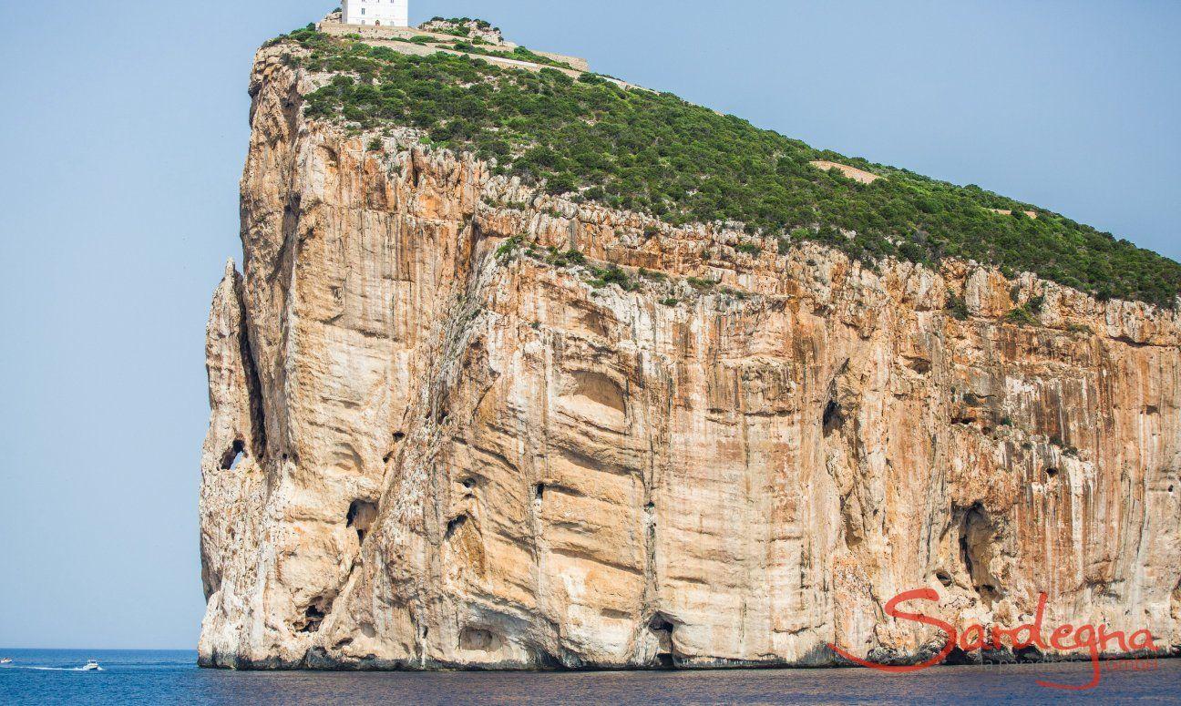 Das Felskap Cappo Caccia mit Leuchtturm, Alghero
