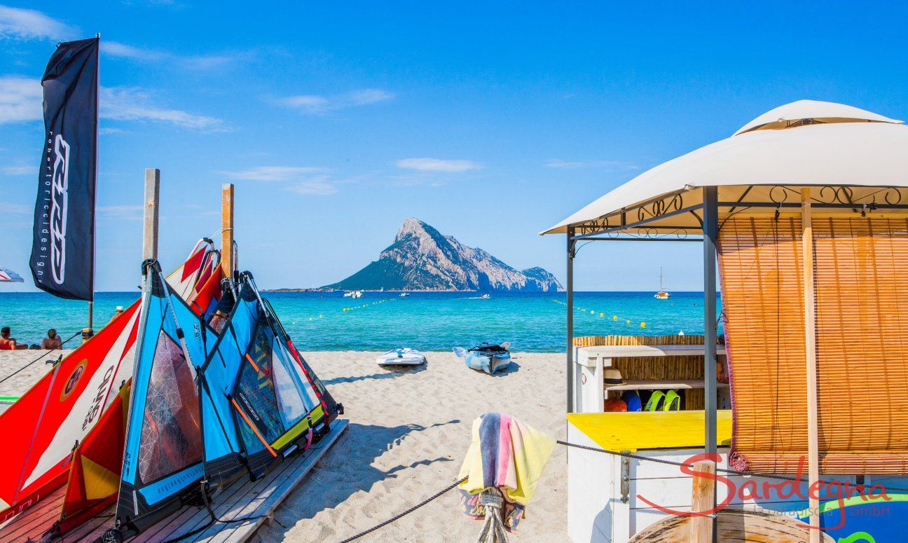 Strandleben im August