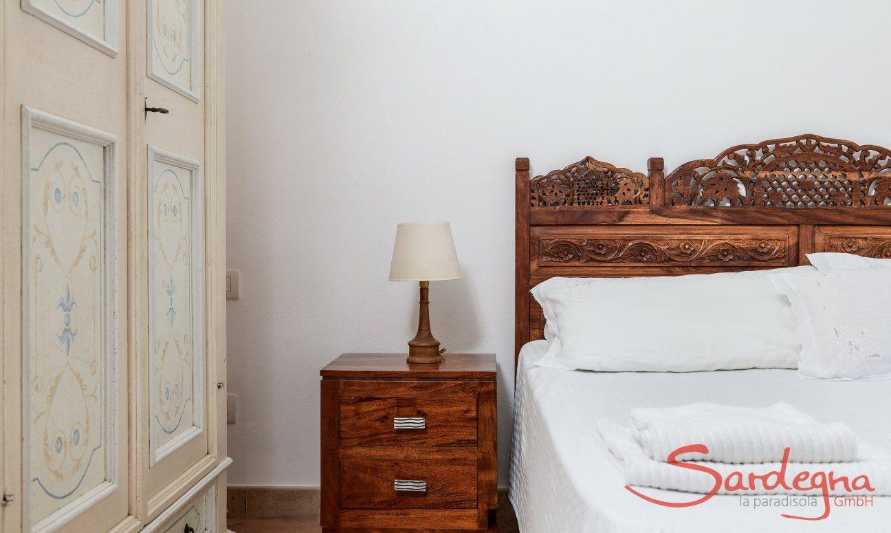 Schlafzimmer 2, Detail