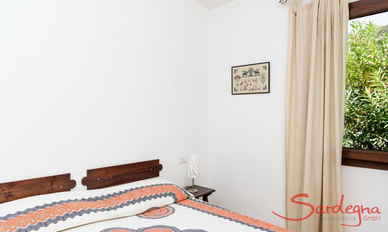 Schlafzimmer 3, Detail