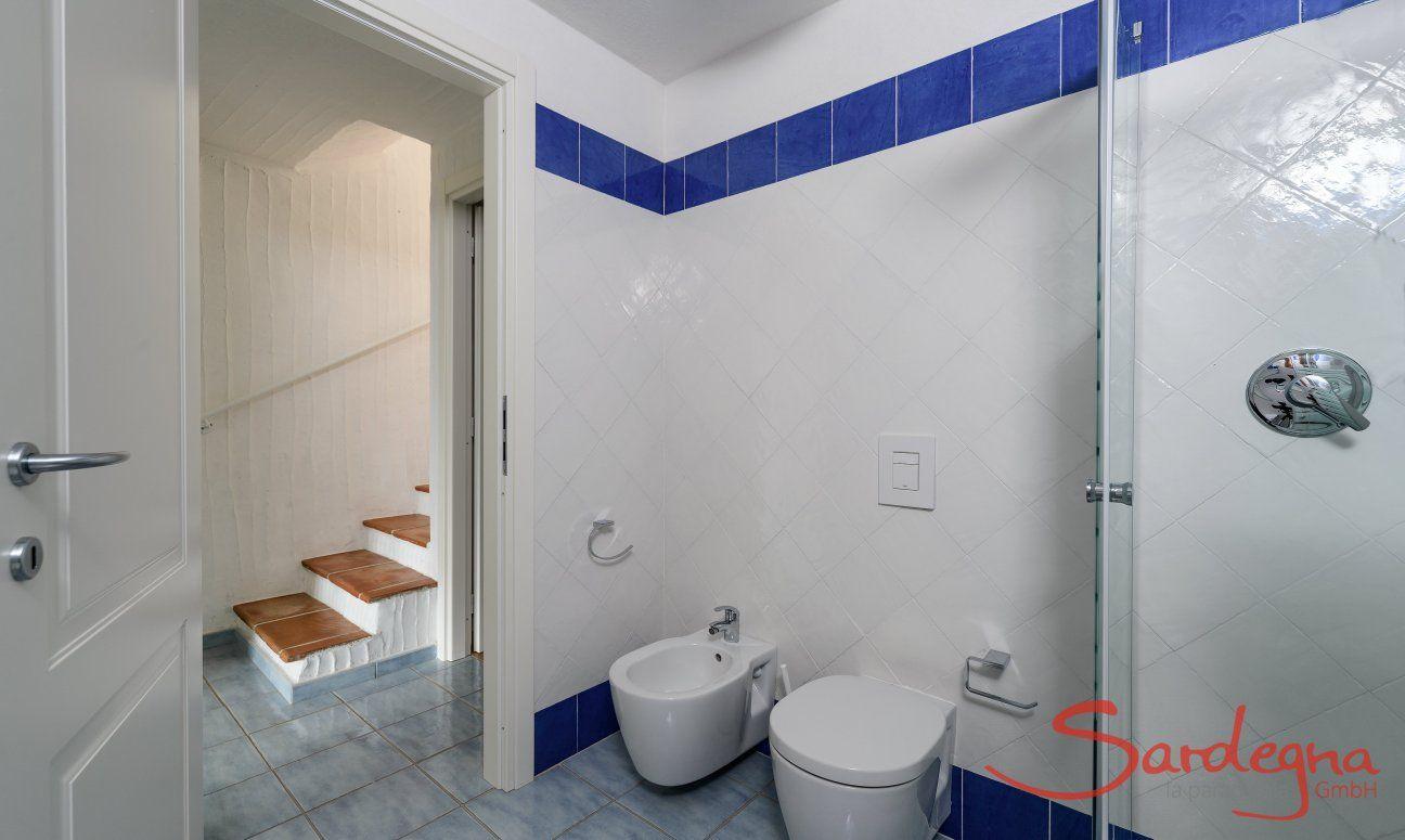 Badezimmer mit Bidet, WC und Dusche, Li Conchi 29
