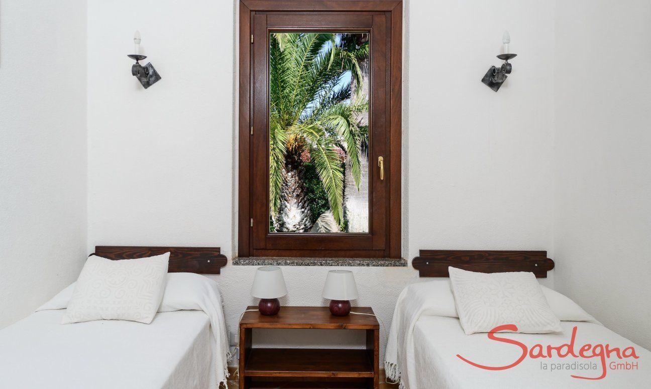 Schlafzimmer 3 mit Einzelbetten