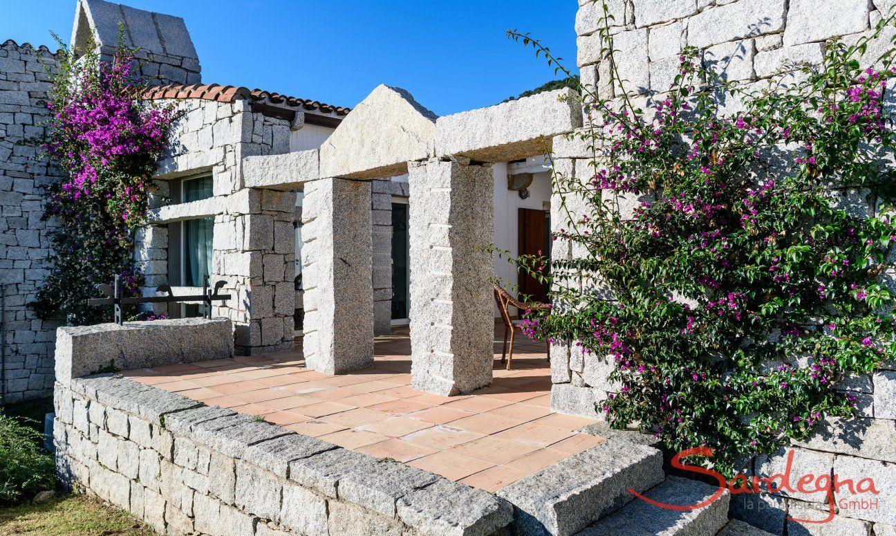 Ferienhaus S.Elmo - sardische Architektur