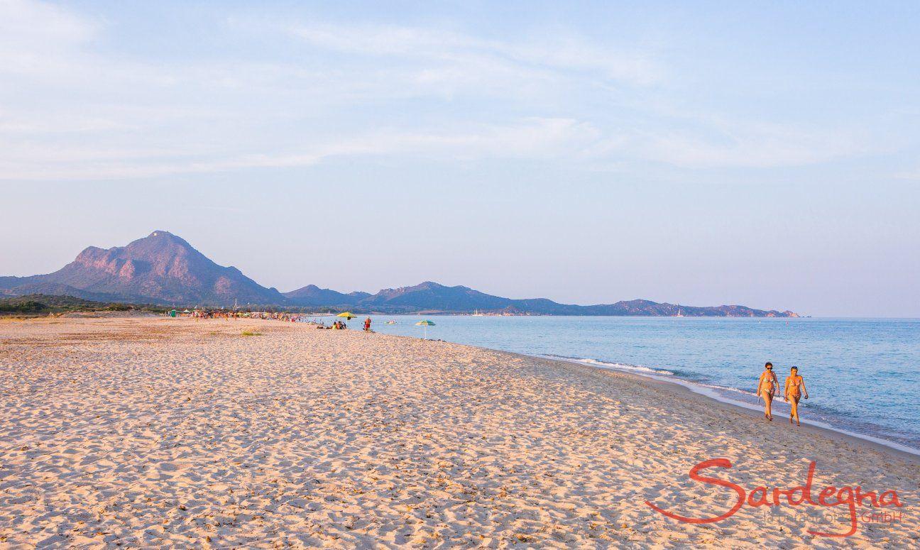 Langläufiger Strand in 70 m. Entfernung