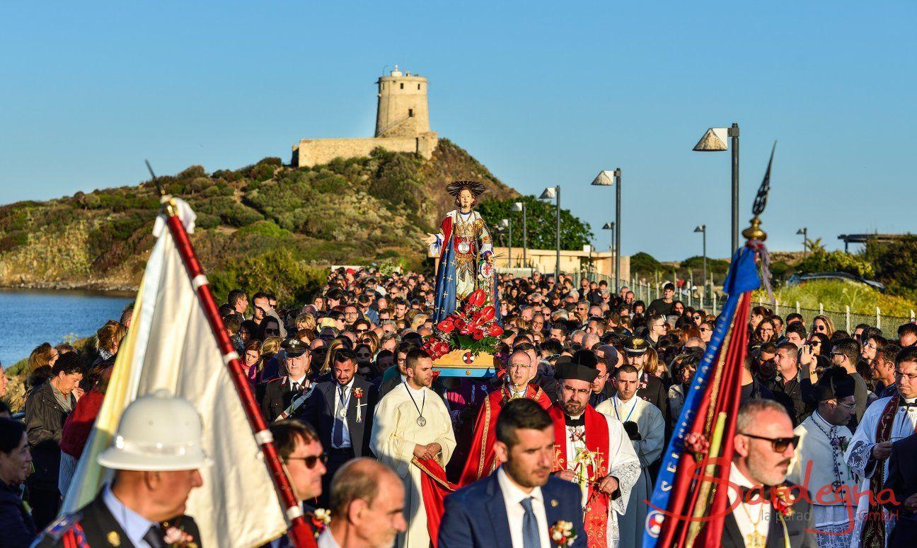 Prozession von Sant Efisio in Nora vom 1.-4. Mai jährlich
