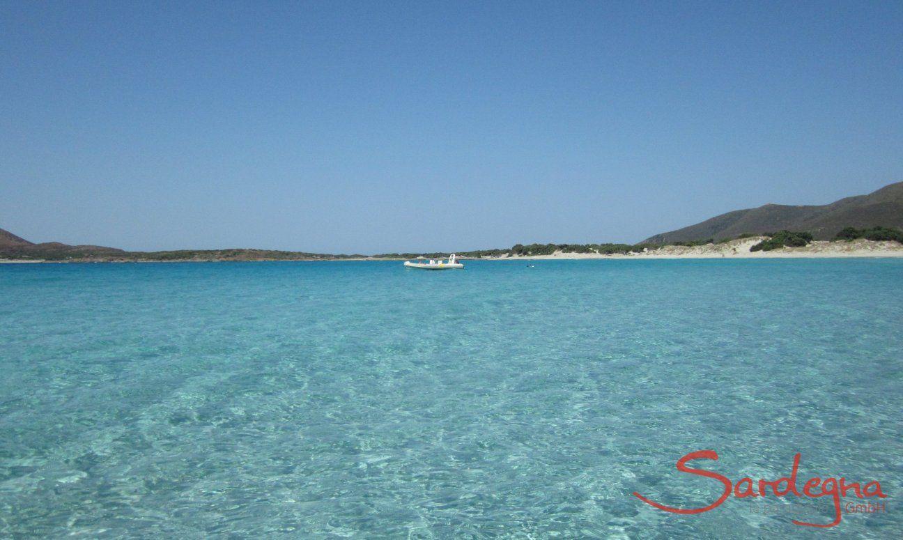 Cala Zafferano, kristallklares Meer