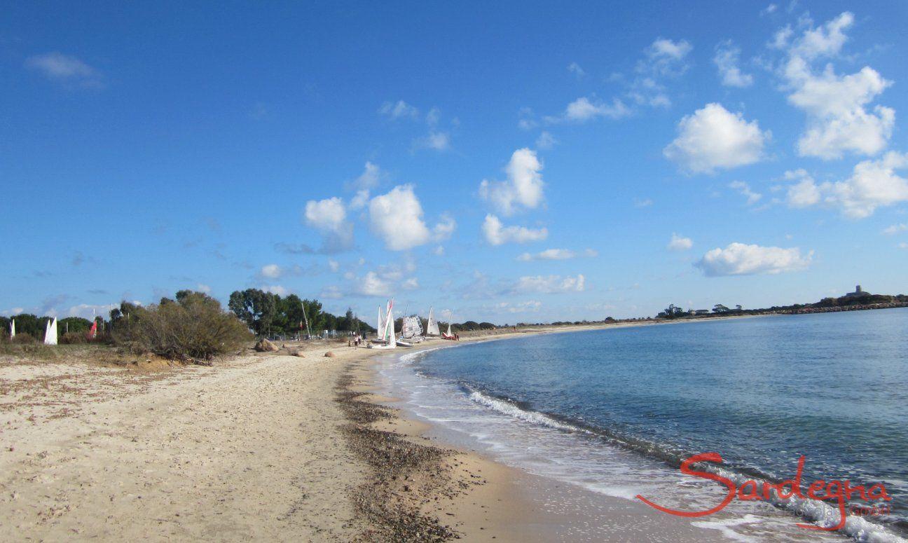 Strand Gegend Pula