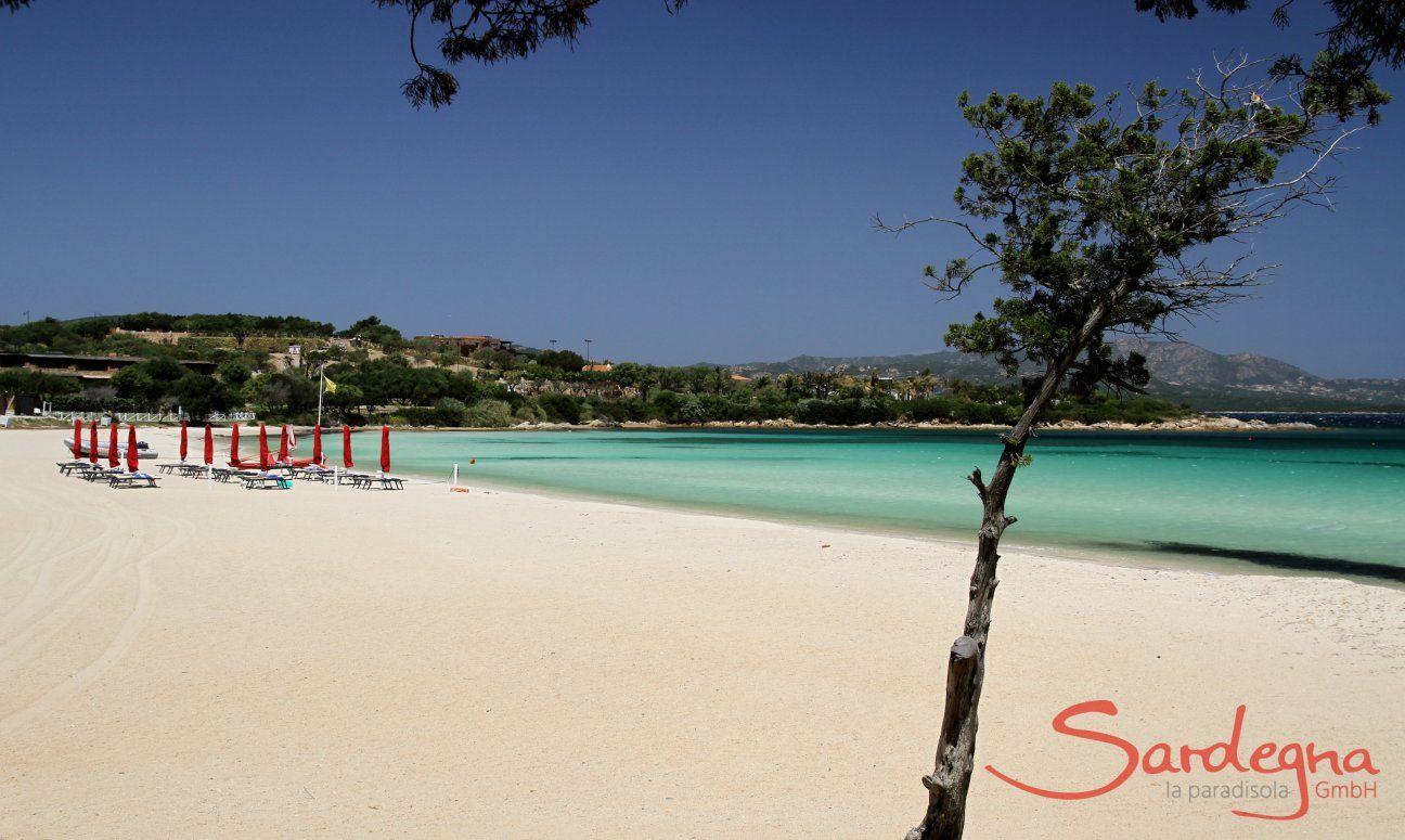 Spiaggia dei Sassi bei Porto Rotondo, etwa 4,5 km von Villa Olandro entfernt