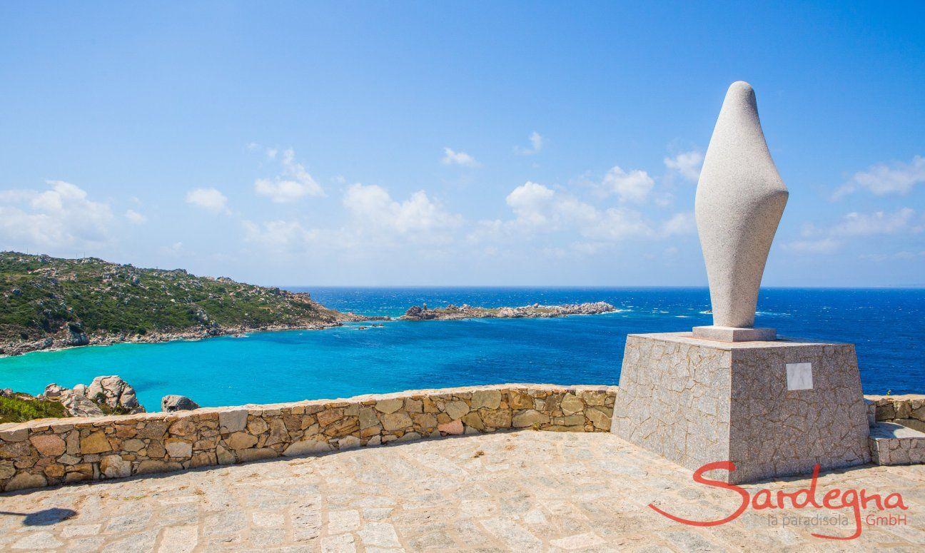Ausblick von Santa Teresa di Gallura über die Bucht
