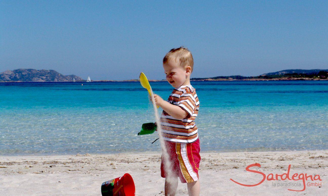 Der Strand - ein Kinderparadies