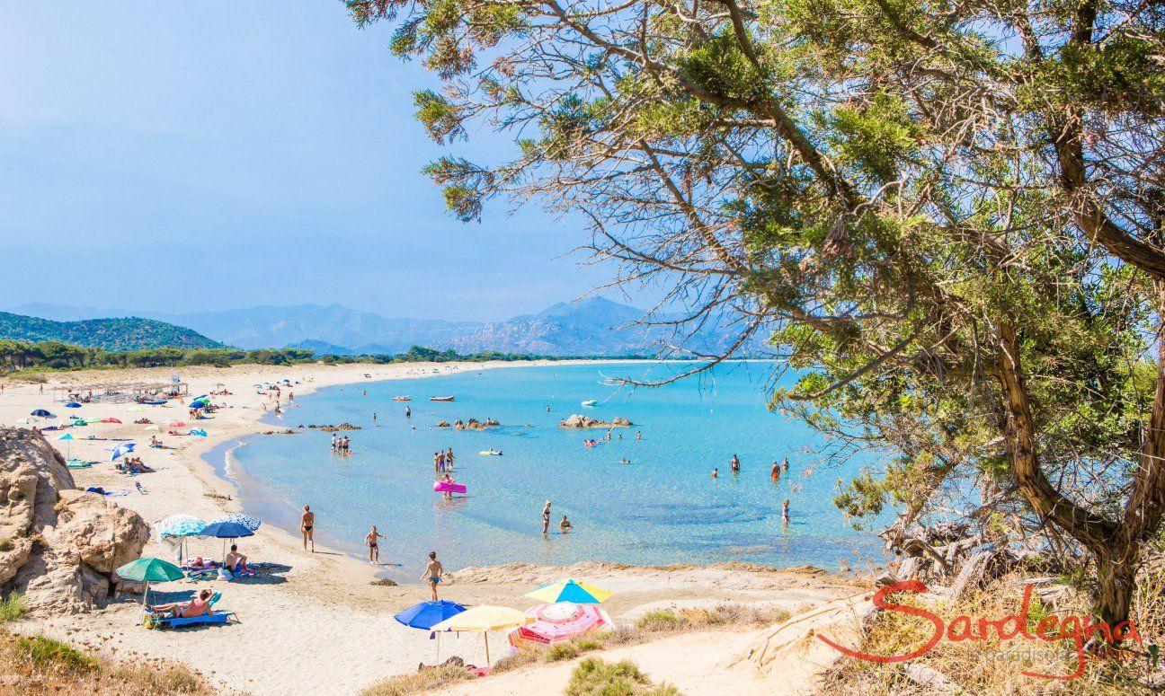 Feraxi Traumhafter Strand Zwischen Lagune Und Meer