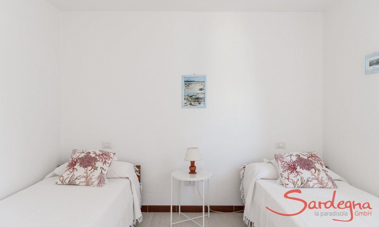 Schlafzimmer mit zwei Einzelbetten von Su Faru 3 Pula