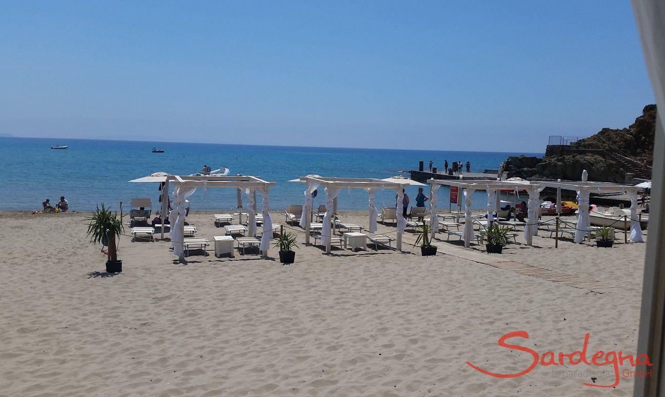 Strand Masua and der Westküste Sardiniens