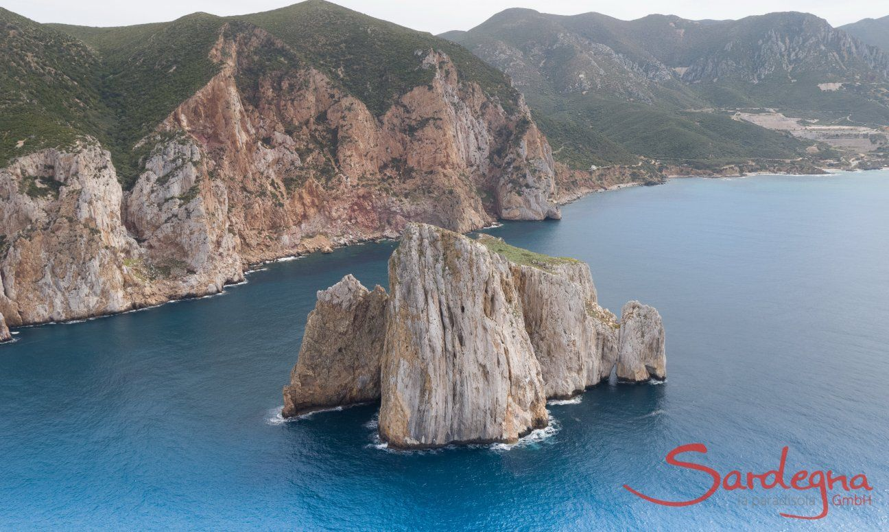 Porto Flavia und Pan di Zucchero Masua Westküste Sardinien