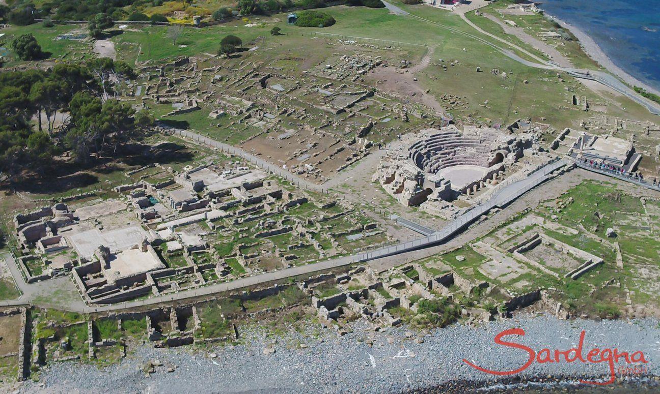 Ausgrabungsstätte Nora, Pula, Südsardinien