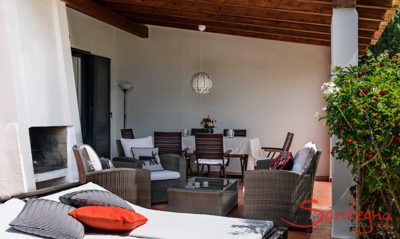 Terrasse Villa Salvi, Costa Rei