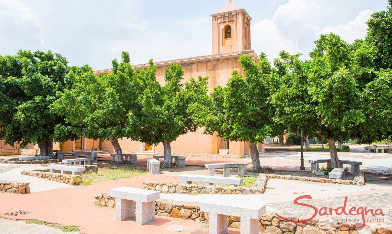 San Priamo, Torre Salinas