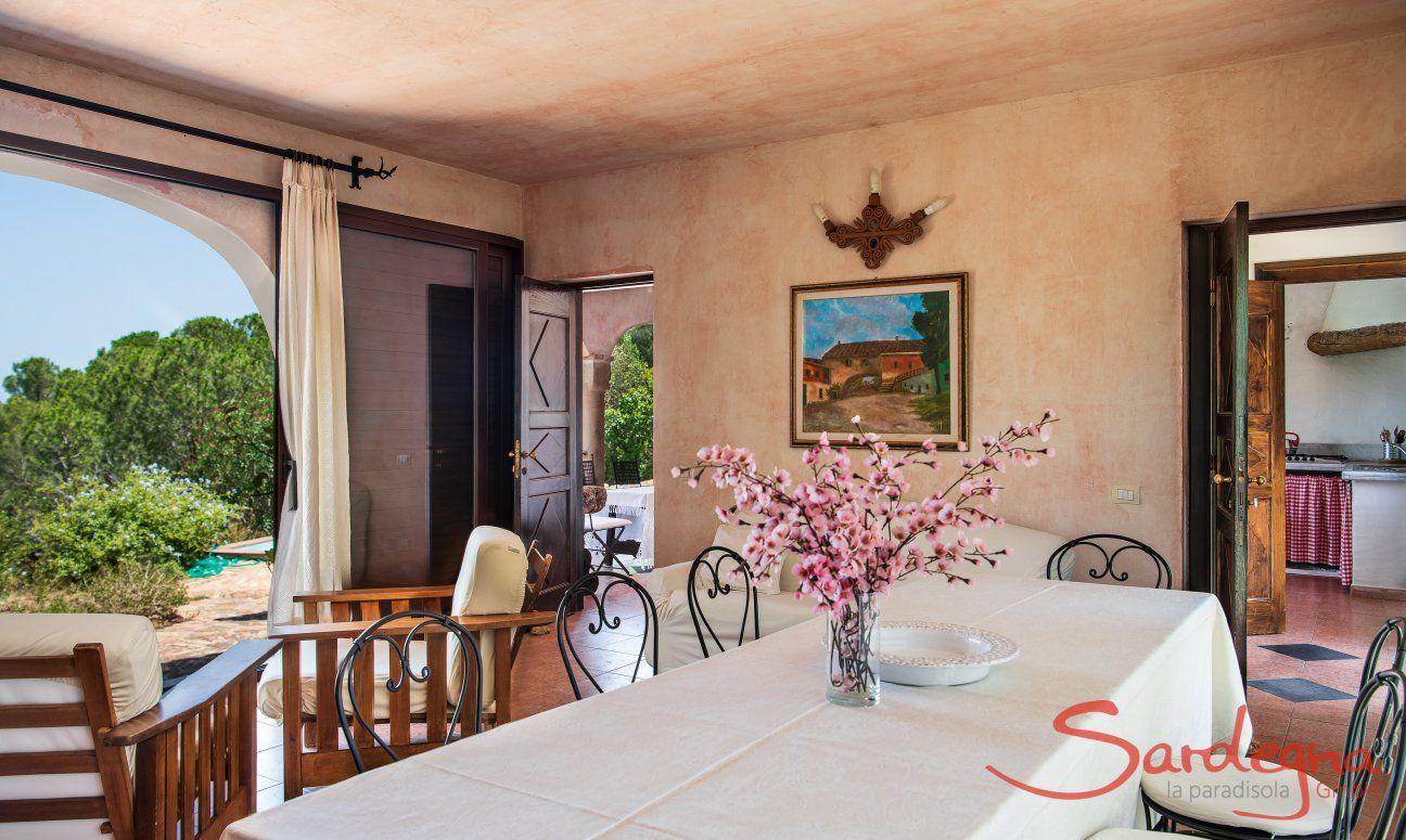 Hausdarstellung Villa del Sole, Is Molas, Pula , Südsardinien