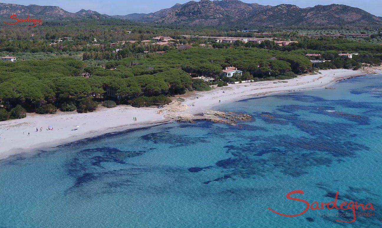 Strand von Cala Liberotto