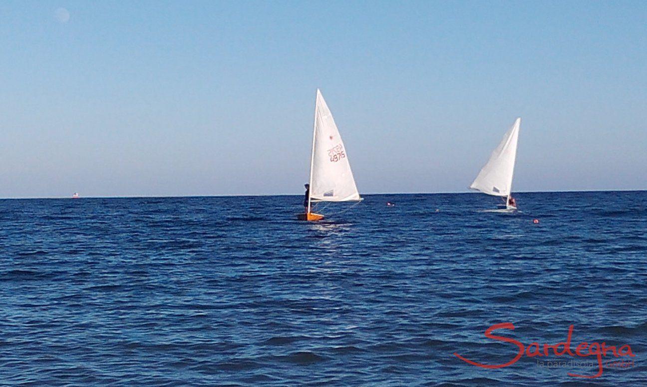 Laser in Sardinien