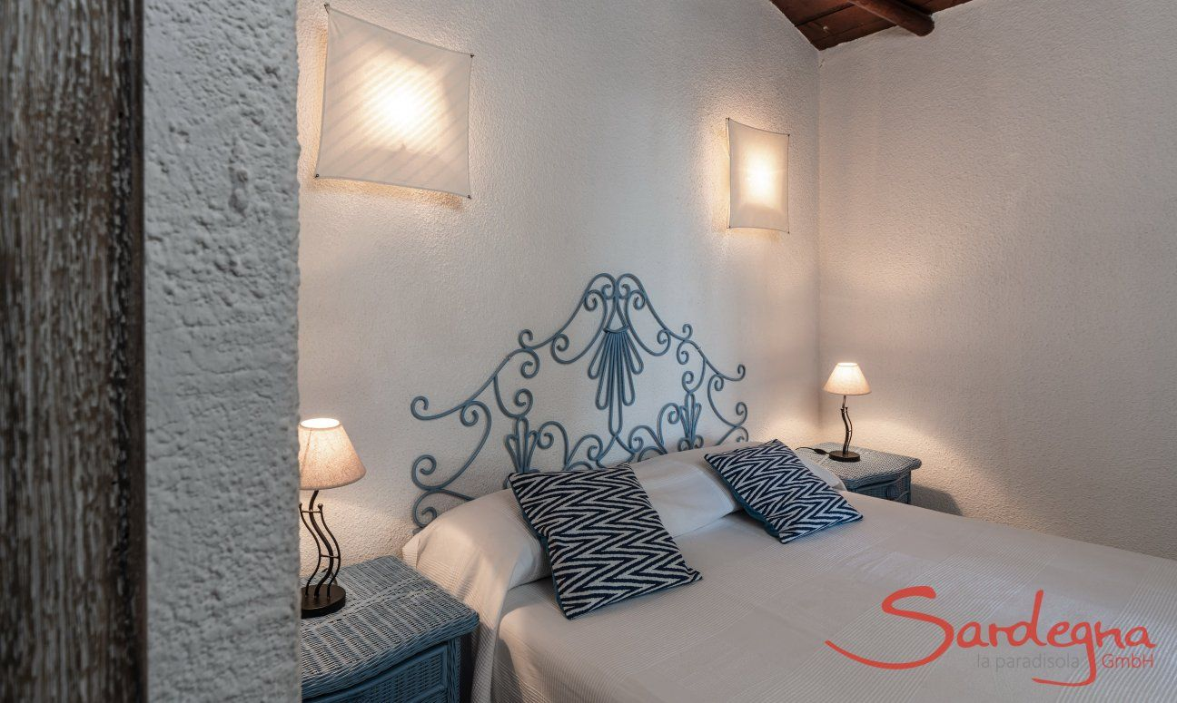 Doppelschlafzimmer Villetta Quattro Costa Rei