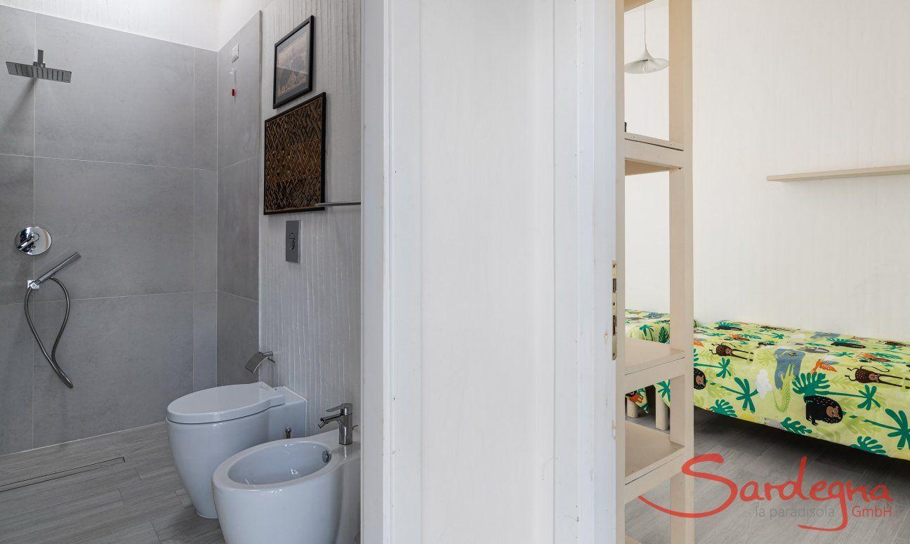 Bad und Zimmer Casa 1 Sant'Elmo
