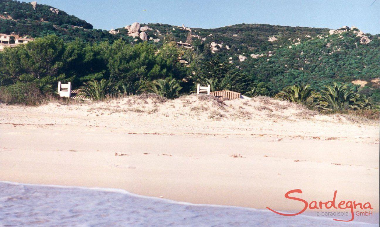 Lage direkt am Strand