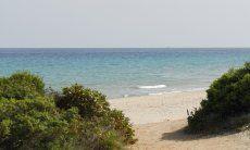 3 km langer Sandstrand Santa Margherita, Pula