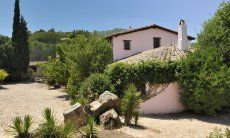 Seitenansicht der Villa Fiori 1