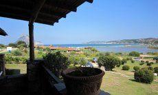 Blick aufs Meer von der Terrasse aus