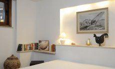 Schlafzimmer 3 (UG) mit Doppelbett