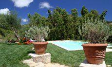 Schön angelegter und gepflegter Garten zum relaxen