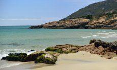 Strand von Santa Margherita, 350 Meter