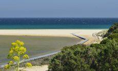 Lagune und Strand von Chia