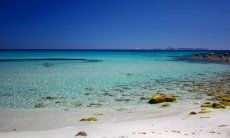 Strand der Costa Rei