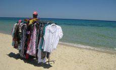 Strandverkäufer Costa Rei