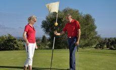 Golfspielen in Is Molas