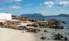 Strand Pellicano vor dem Haus