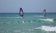 Windsurfen Sardinien;