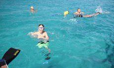 Badespaß vor Villasimius