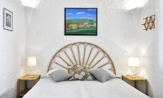 Schlafzimmer 2 mit Doppelbett Villa Serena, Costa Rei