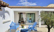 Innenhof von Villa Campidano 20 im kampidanesischen Stile