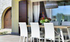 Terrasse mit Esstisch  Villa Campidano 21