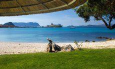 Golfo Aranci Blick aufs Meer