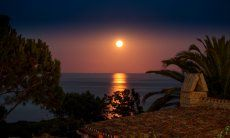 Mondaufgang über Sant´Elmo