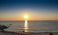 Sonnenaufgang in Sant Elmo