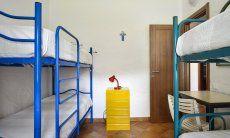 Schlafzimmer 3 mit 2 Stockbetten