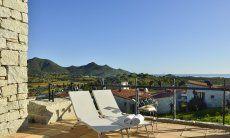 Sonnenliegen auf der Terrasse mit Meerblick Li Conchi 10, Cala Sinzias