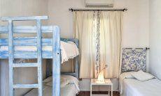 Schlafzimmer 2 mit Einzelbett und Hochbett