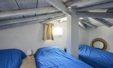 Dachzimmer im Frühjahr und Herbst